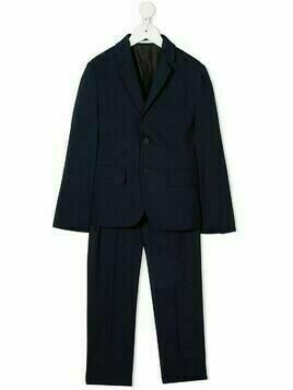 BOSS Kidswear single-breasted suit - Blue
