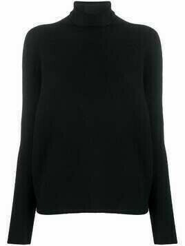 Christian Wijnants roll-neck merino jumper - Black