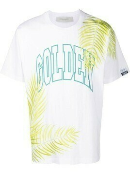 Golden Goose Golden logo-print T-shirt - White