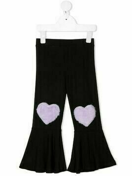 WAUW CAPOW by BANGBANG Move Heart trousers - Black