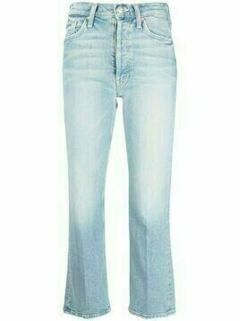 MOTHER The Tripper cropped jeans - Blue