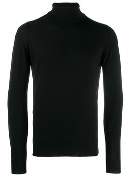 John Smedley turtleneck wool sweater - Black