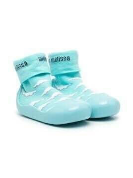 Mini Melissa Alpha Play Sunny Day sneakers - Blue