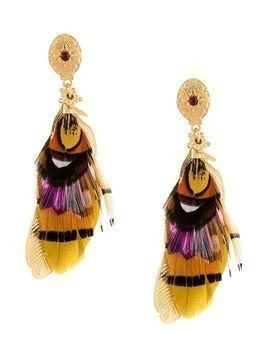 Gas Bijoux Sao feather earrings - GOLD
