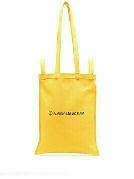 MM6 Maison Margiela number 6 logo tote - Yellow