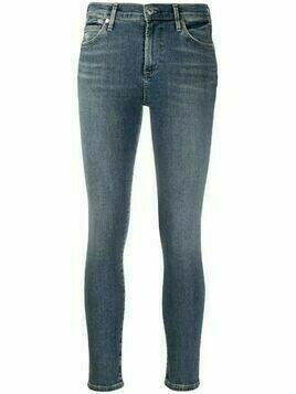 Citizens of Humanity cropped skinny-cut jeans - Blue