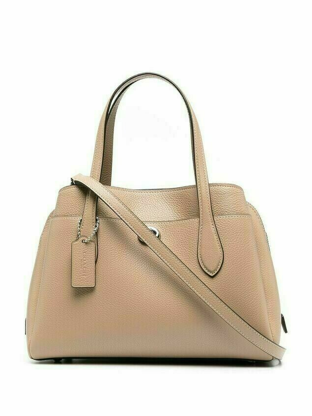 Coach leather tote bag - Neutrals