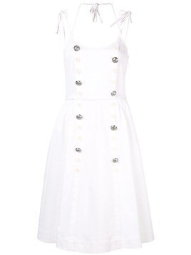 Dice Kayek double breasted dress - White