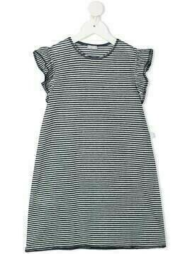 Il Gufo striped dress - Blue