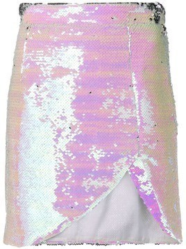 Amen sequined mini skirt - Pink