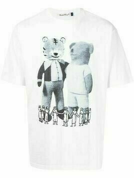UNDERCOVER graphic-print short-sleeve T-shirt - White
