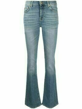 7 For All Mankind faded bootcut jeans - Blue