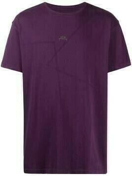 A-COLD-WALL* logo print T-shirt - PURPLE
