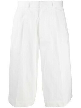 Alexander McQueen loose tailored shorts - White