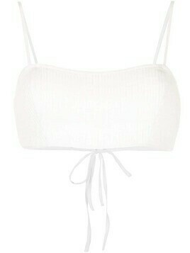 Sir. Alina cropped top - White