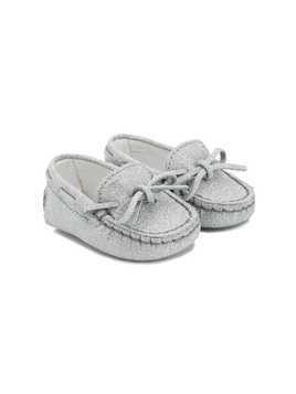 Tod's Kids Gommino loafers - Grey