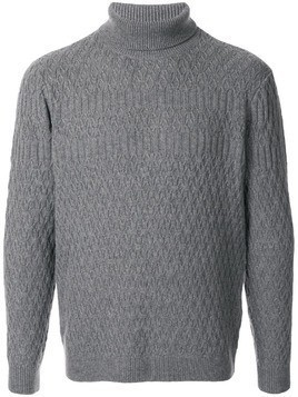 D'urban long sleeve turtle neck sweater - Grey