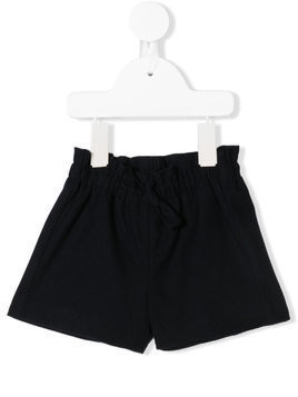 Il Gufo elasticated-waist shorts - Blue