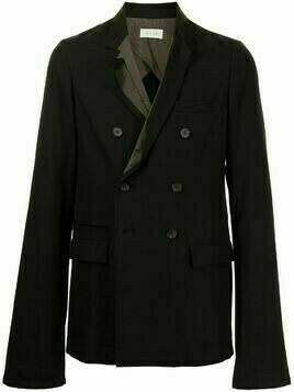Bed J.W. Ford peak-lapels double-breasted blazer - Black