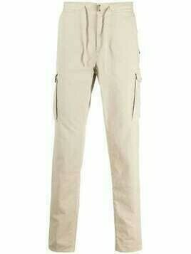 Incotex straight-leg cargo trousers - Neutrals