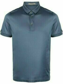 Corneliani short-sleeve polo shirt - Blue