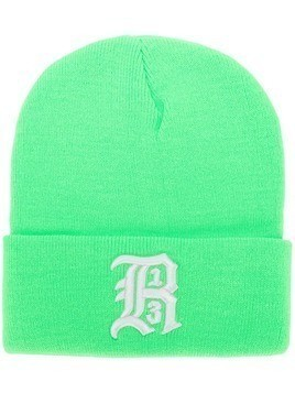 R13 logo embroidered hat - Green