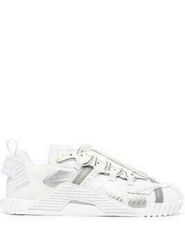 Dolce & Gabbana Ns1 leather sneakers - White