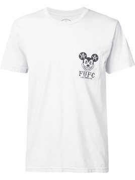 Local Authority Mickey pocket T-shirt - White