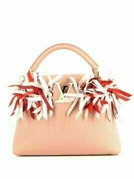 Louis Vuitton pre-owned Capucines tote bag - PINK