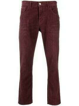 Haikure corduroy jeans - Red