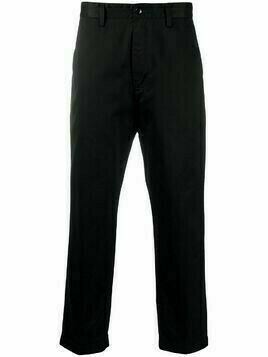 Haikure Denver loose-fit trousers - Black
