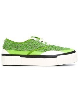 Julien David platform sneakers - Green