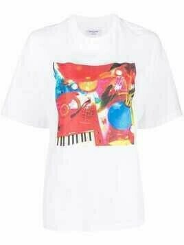 Opening Ceremony graphic-print T-shirt - White