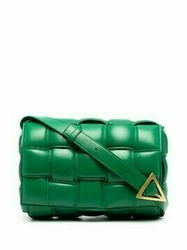 Bottega Veneta padded Cassette bag - Green