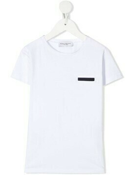 Paolo Pecora Kids bar detail T-shirt - White