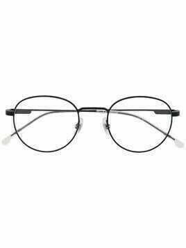 Carrera round-frame glasses - Black