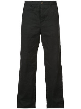 Individual Sentiments straight leg trousers - Black