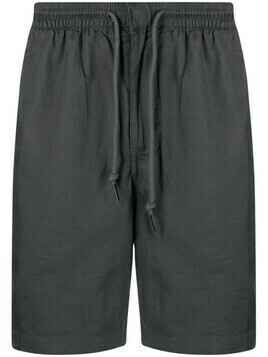 Patagonia drawstring organic cotton-blend track shorts - Grey