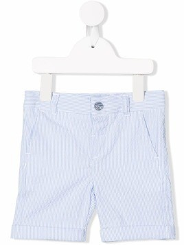 Harmont & Blaine Junior striped casual shorts - Blue