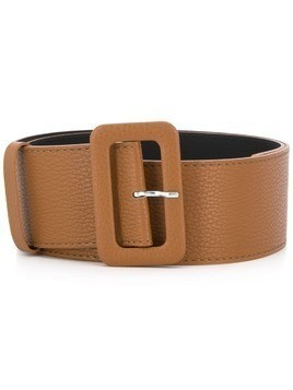 P.A.R.O.S.H. wide-band buckle belt - Brown