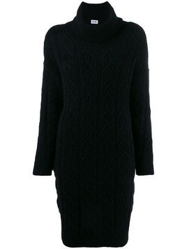 Each X Other cable knit sweater dress - Black