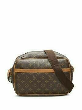 Louis Vuitton 2004 pre-owned monogram Reporter PM shoulder bag - Brown