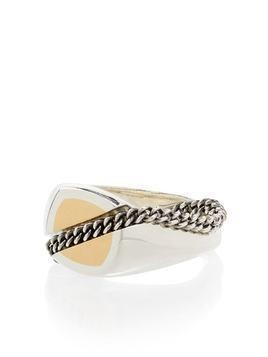 M. Cohen 18kt white gold signet ring