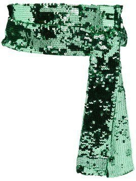 Attico embellished waist belt - Green