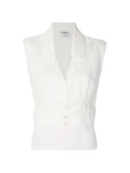 Chanel Vintage two layer blouse - White