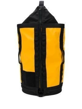 The North Face printed logo backpack - Yellow