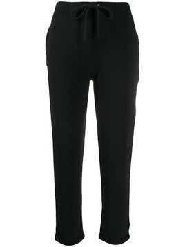 Majestic Filatures drawstring trousers - Black