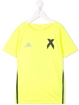 Adidas Kids X Jersey short-sleeve T-shirt - Yellow