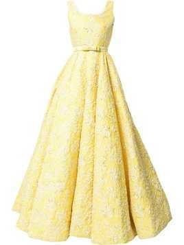 Bambah Clematis Cinderella gown - Yellow & Orange