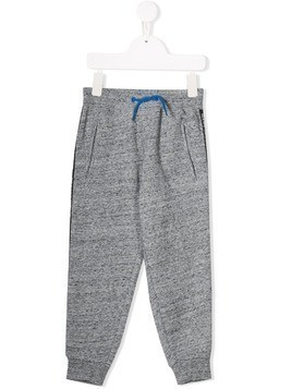 Little Marc Jacobs marled jersey sweatpants - Grey
